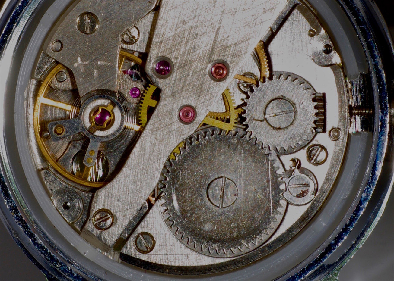 17 WRISTWATCH ESCAPEMENT by Ron Gaisford