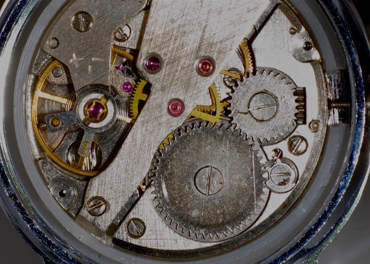 17 WRISTWATCH ESCAPEMENT by Ron Gaisford
