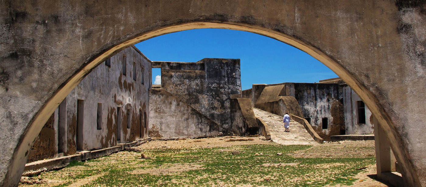 GROUP 2 18 THE OLD FORT - MOZAMBIQUE by Joan Gow