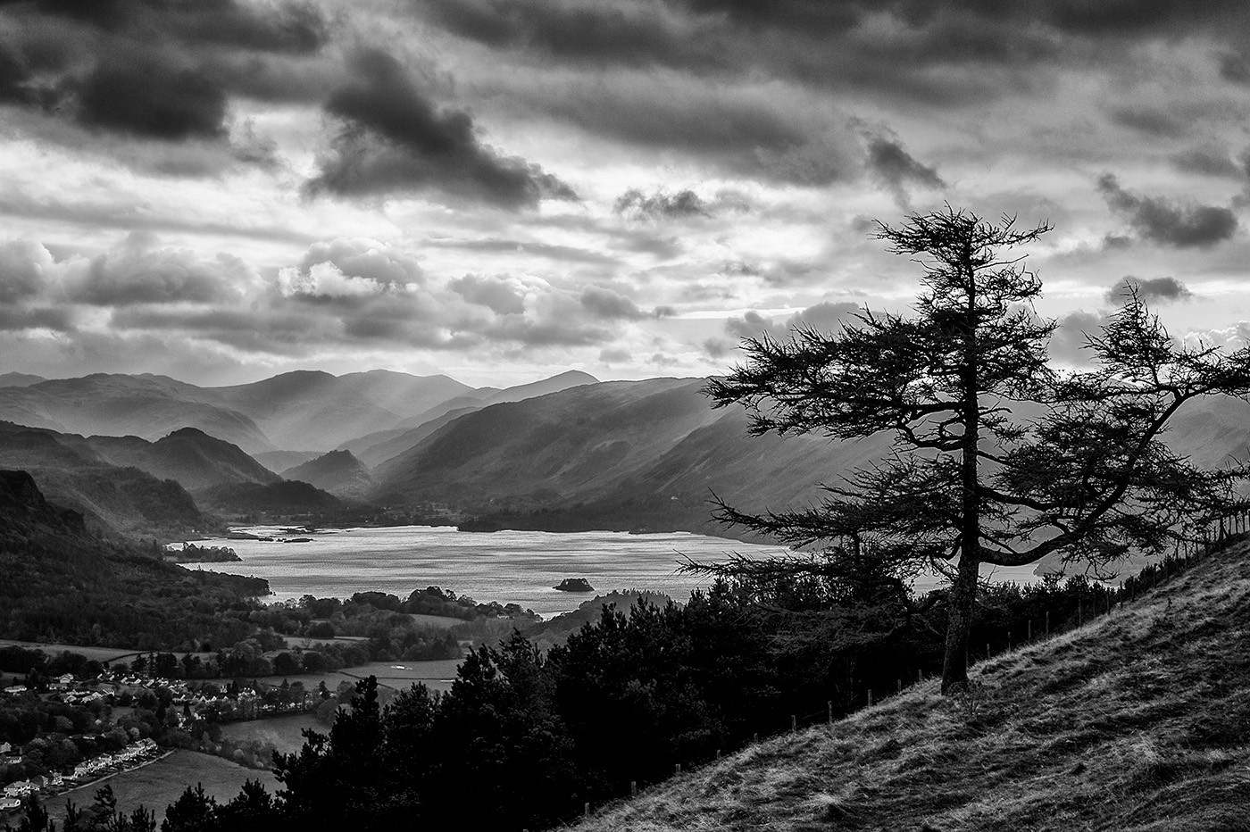 18 DERWENT WATER FROM LATRIGG by Steve Oakes