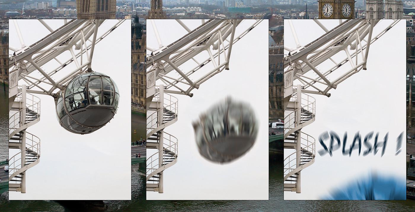 THE BIG SPLASH IN LONDON by Peter Tulloch