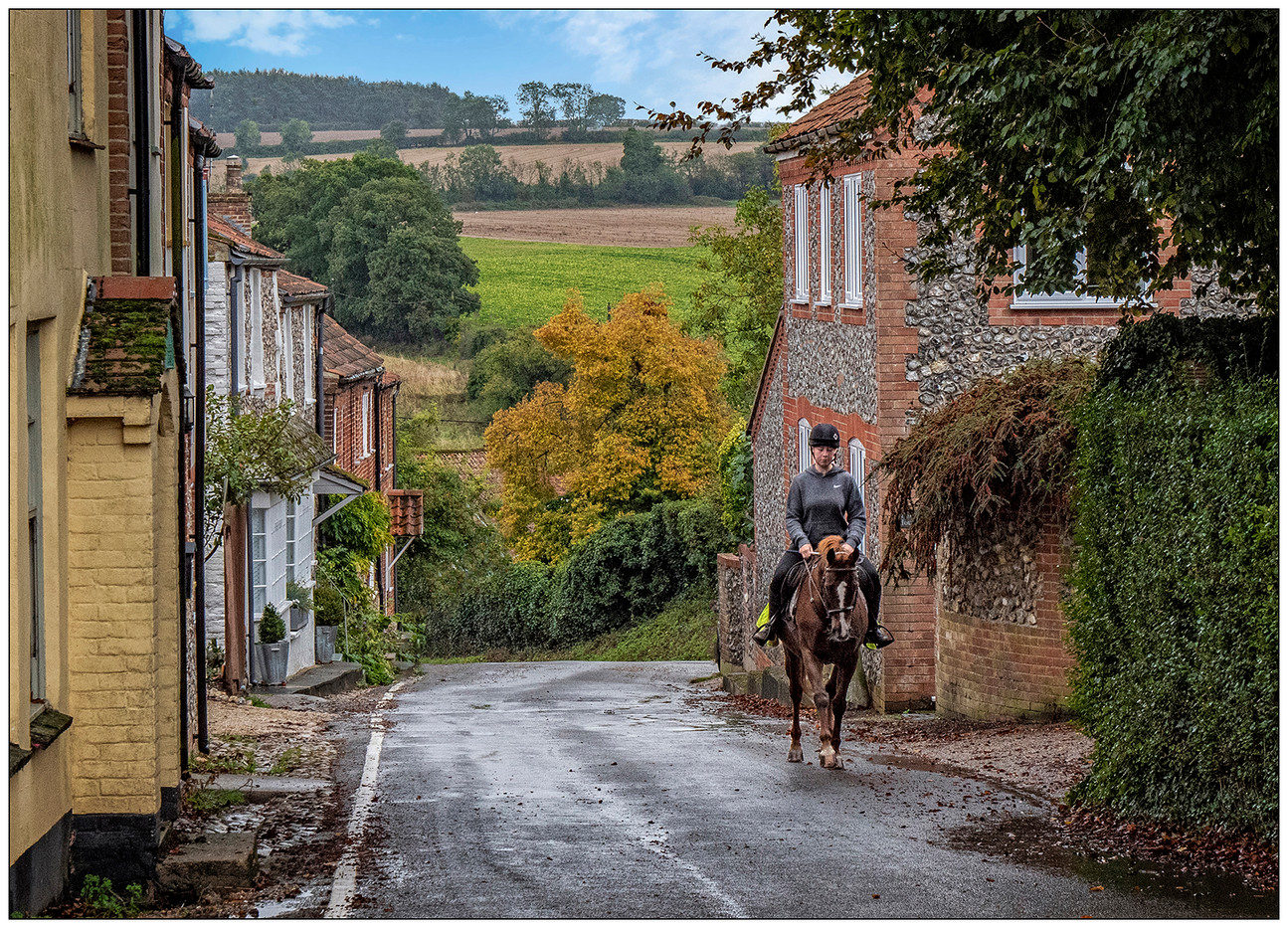 19 A TROT UP BAILEY STREET CASTLE ACRE by Graham Bunyan