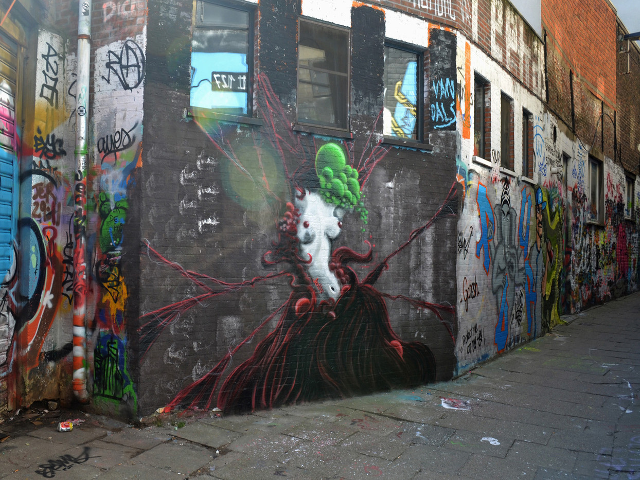 GROUP 2 19 GRAFFITI IN GHENT by Colin Bullen