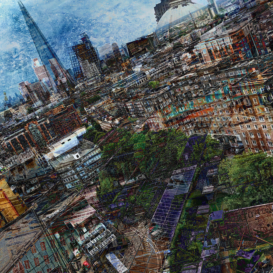 17 LONDON CITYSCAPE by Nicola Bolton