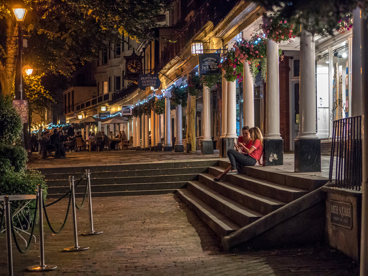 16 PANTILES EVENING by Roger Wates