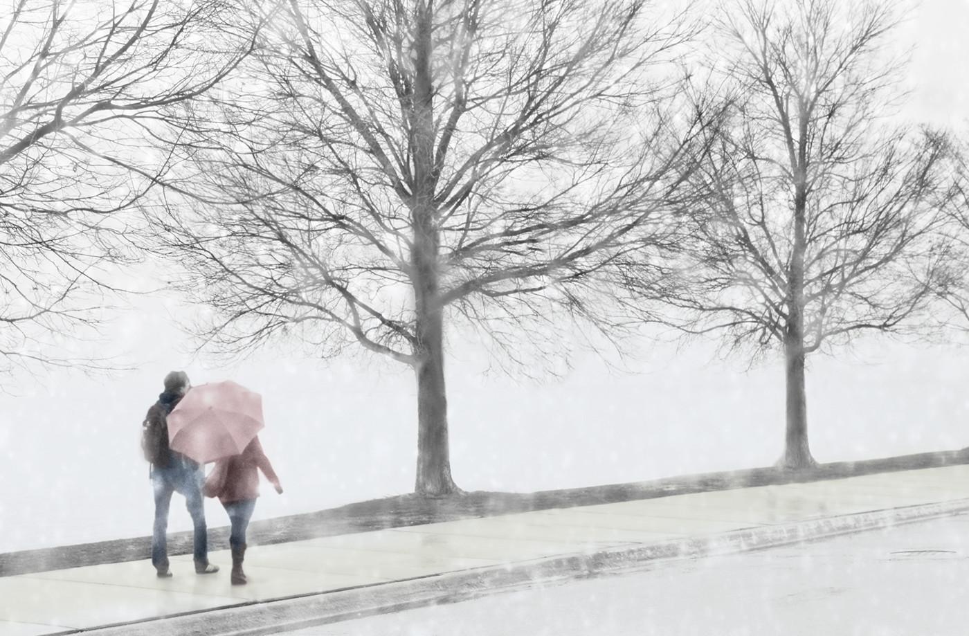 17 SNOWING IN CHICAGO by Pam Sherren