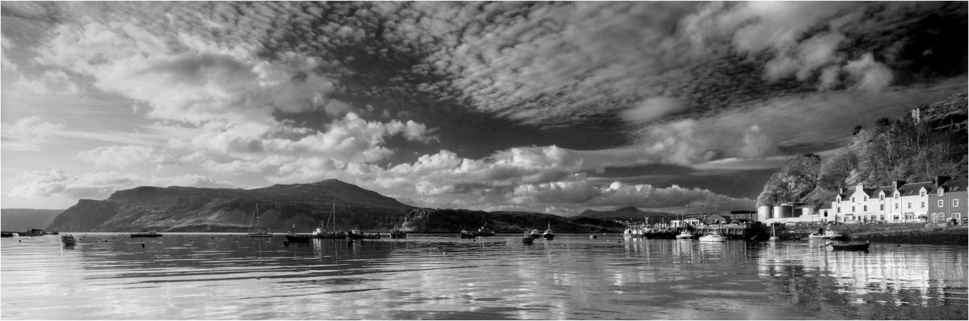 GROUP 1 16 PORTREE ISLE OF SKYE by Dave Brooker