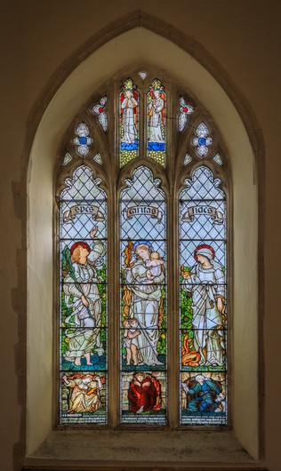 16 CHURCH TOWER WEST WINDOW by David Godfrey