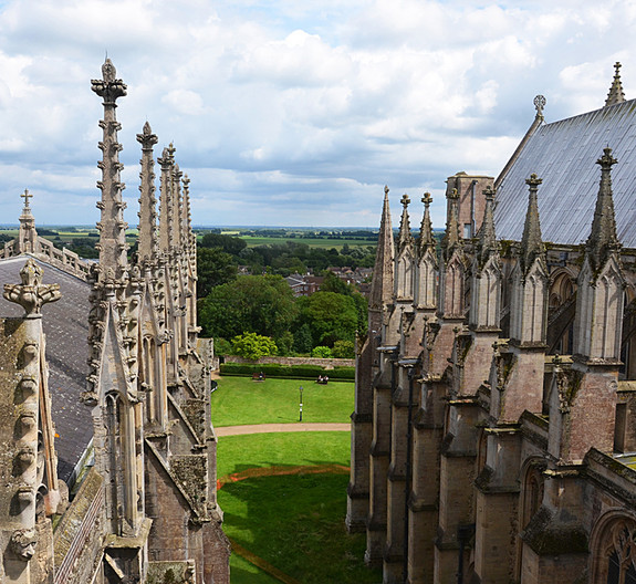 13 THE VIEW FROM THE OCTAGON TOWER by Joan Gow