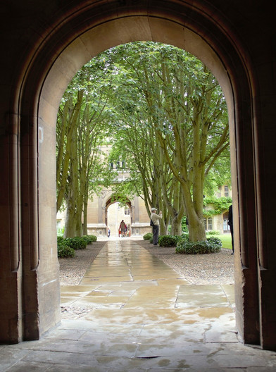 15 THROUGH THE ARCHWAY by Sarah Stoneley