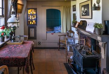 18 KINDERDIJK MILLER'S LIVING ROOM by David Godfrey