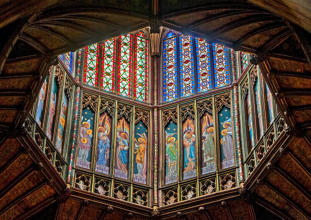 15 NAVE LANTERN ELY CATHEDRAL by Jenny Clark
