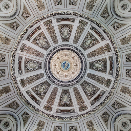 20 VIENNA NATURAL HISTORY MUSEUM ENTRANCE HALL CEILING by Philip Smithies