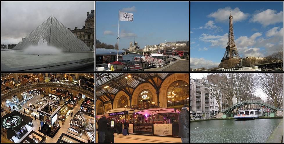 16 SCENES OF PARIS by Colin Bullen