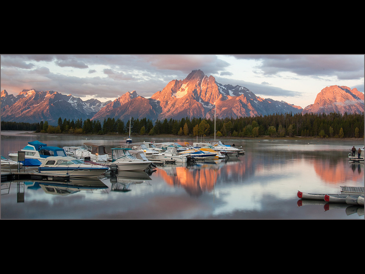 GROUP 2 19 DAWN ON JACKSON LAKE by Cathie Agates