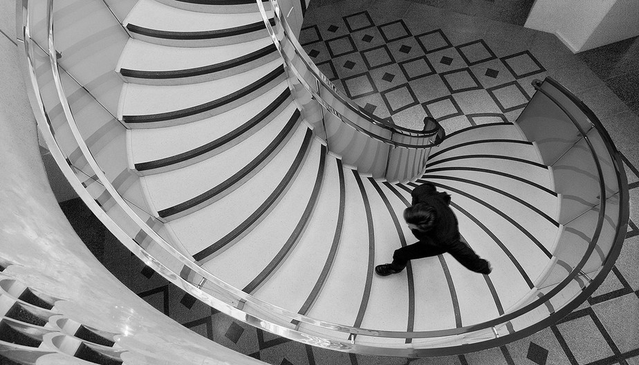 17 SPIRAL STAIRCASE by Philip Smithies