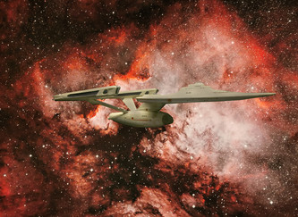 14 SPACE THE FINAL FRONTIER by Cathie Agates