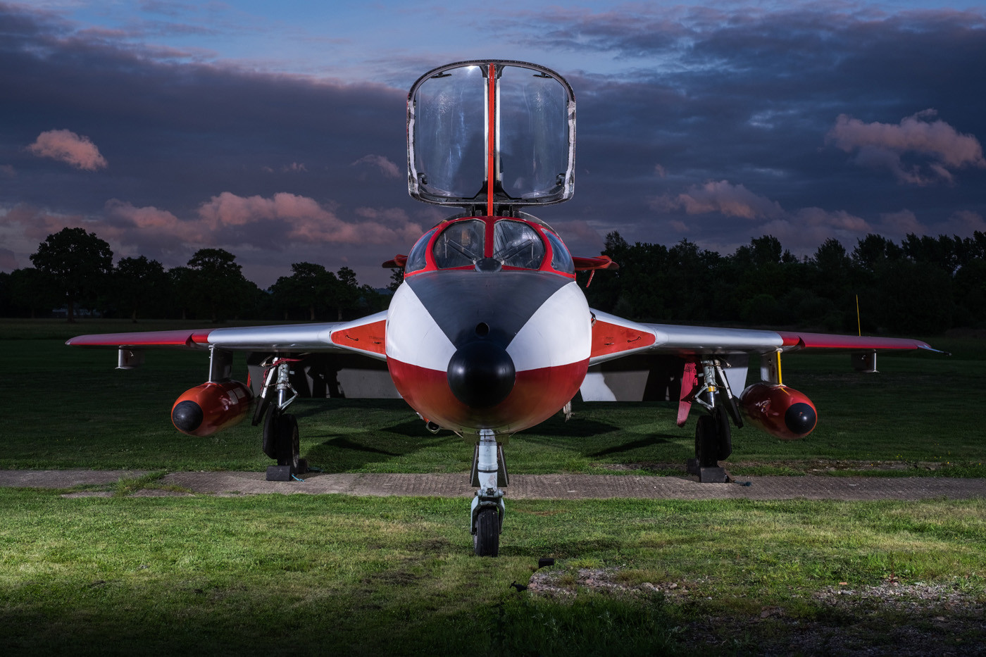 17 HAWKER HUNTER by Terry Day