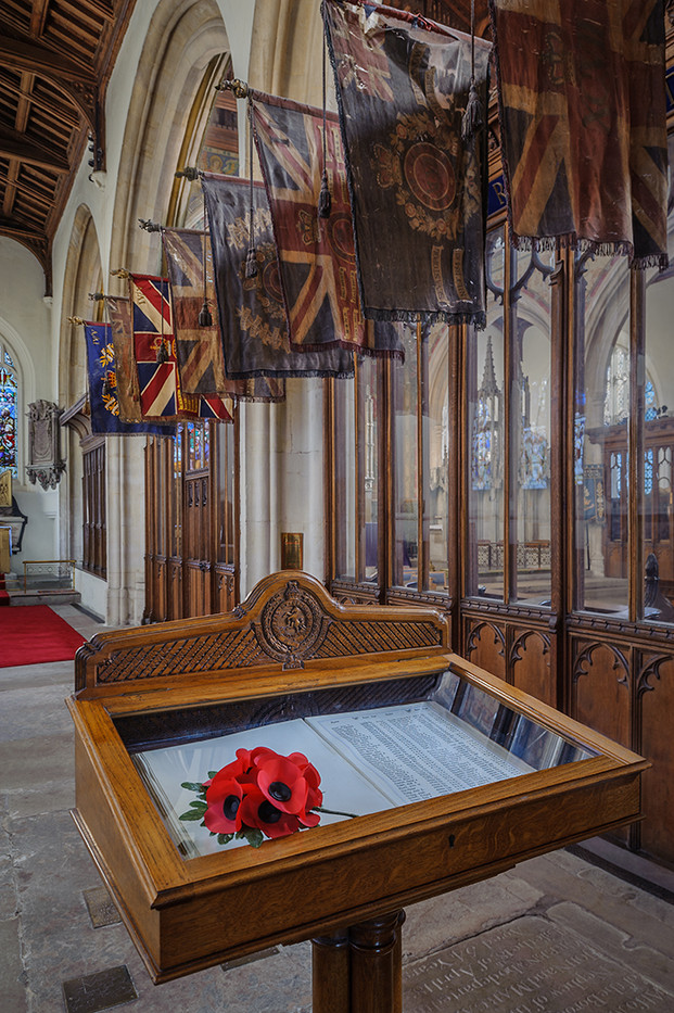 18 REMEMBRANCE SUNDAY ALL SAINTS CHURCH MAIDSTONE KENT by Chris Rigby