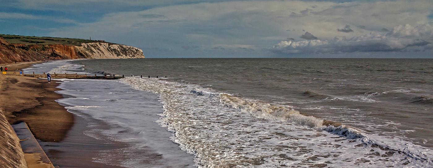 15 WHITECLIFF BAY I.O.W. by Jacky Bunyan