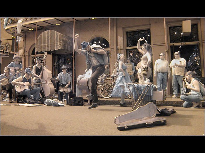 GROUP 1 15 DANCING IN THE STREET by Cathie Agates