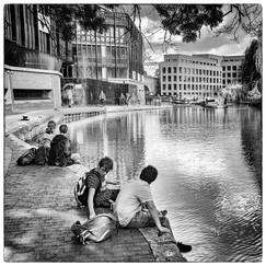 17 LAZY AFTERNOON ON THE CANAL by Philip Easom
