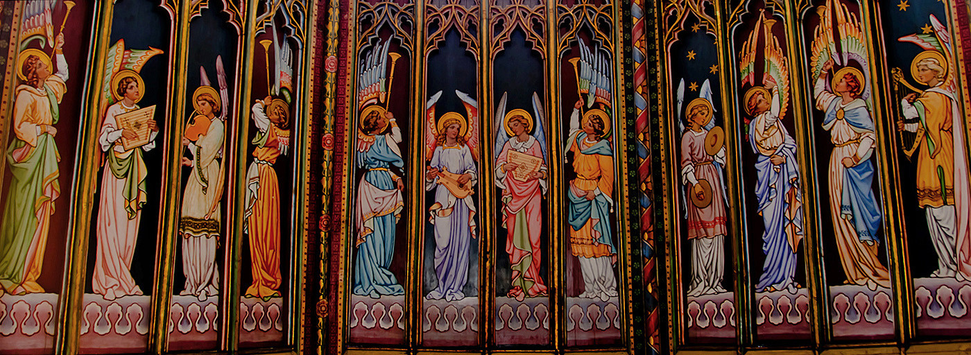 11 THE ANGELS UP THE OCTAGON TOWER by Joan Gow