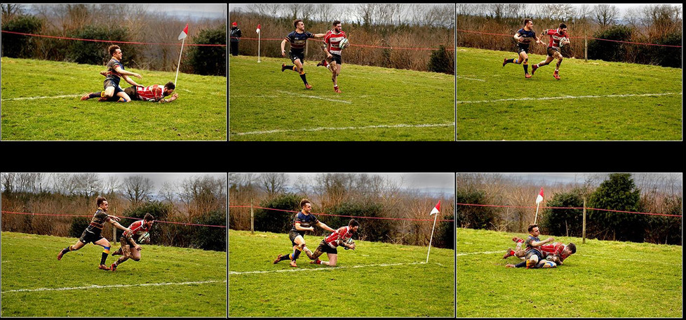 16 ONE ON ONE By Denys Clarke
