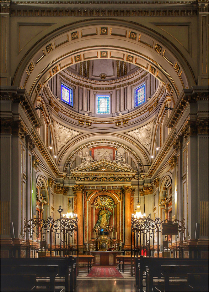 16 ALTAR STATUE AND CHAPEL VALENCIA CATHEDRAL by Dave Brooker