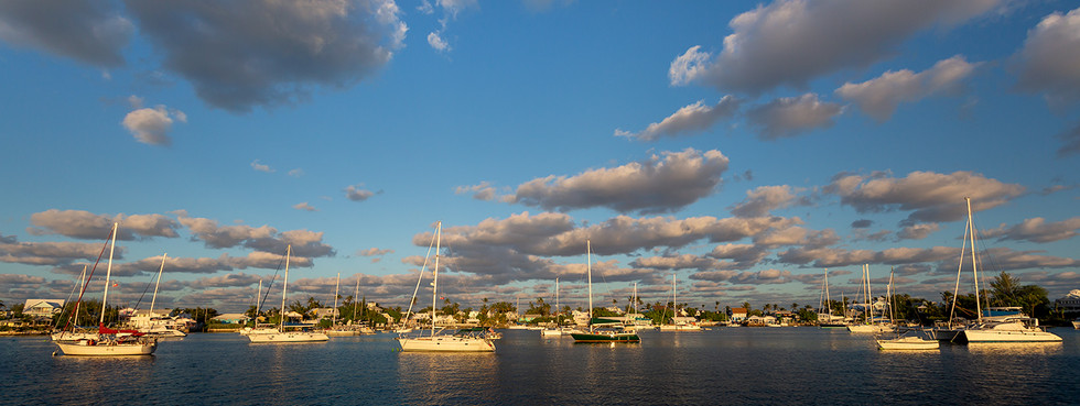 15 HOPE HARBOUR AT SUNSET by Kevin Yates
