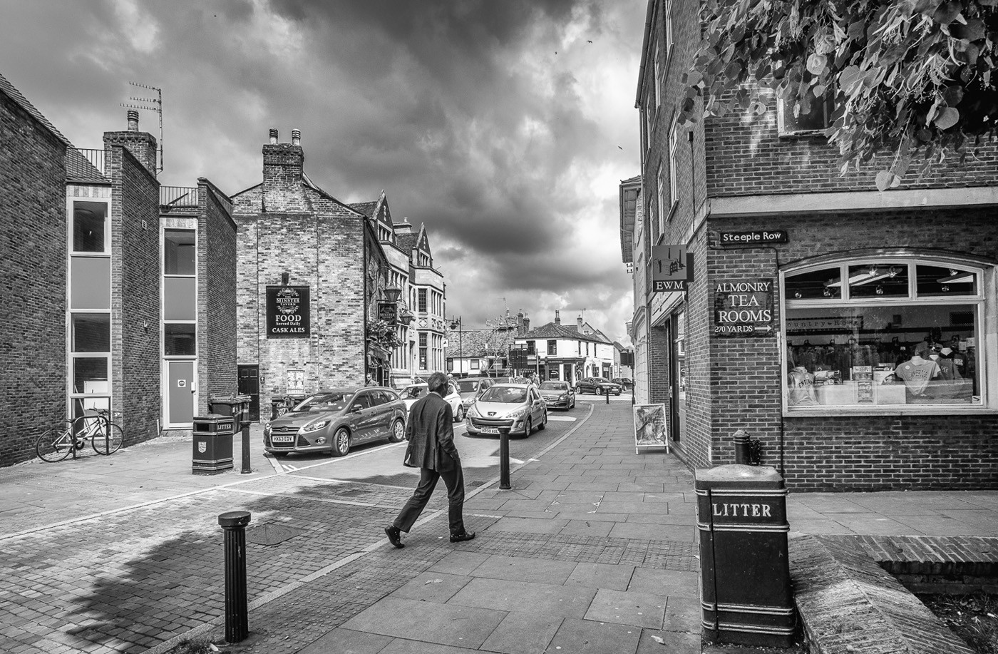 16 THE WAY TO ALMONRY TEA ROOMS by Tony Hill