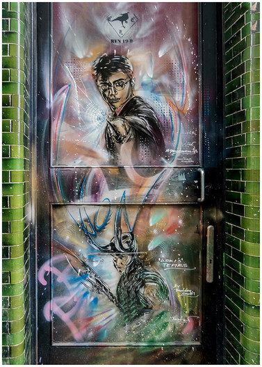 18 LONDON ART WORK by Jacky Bunyan