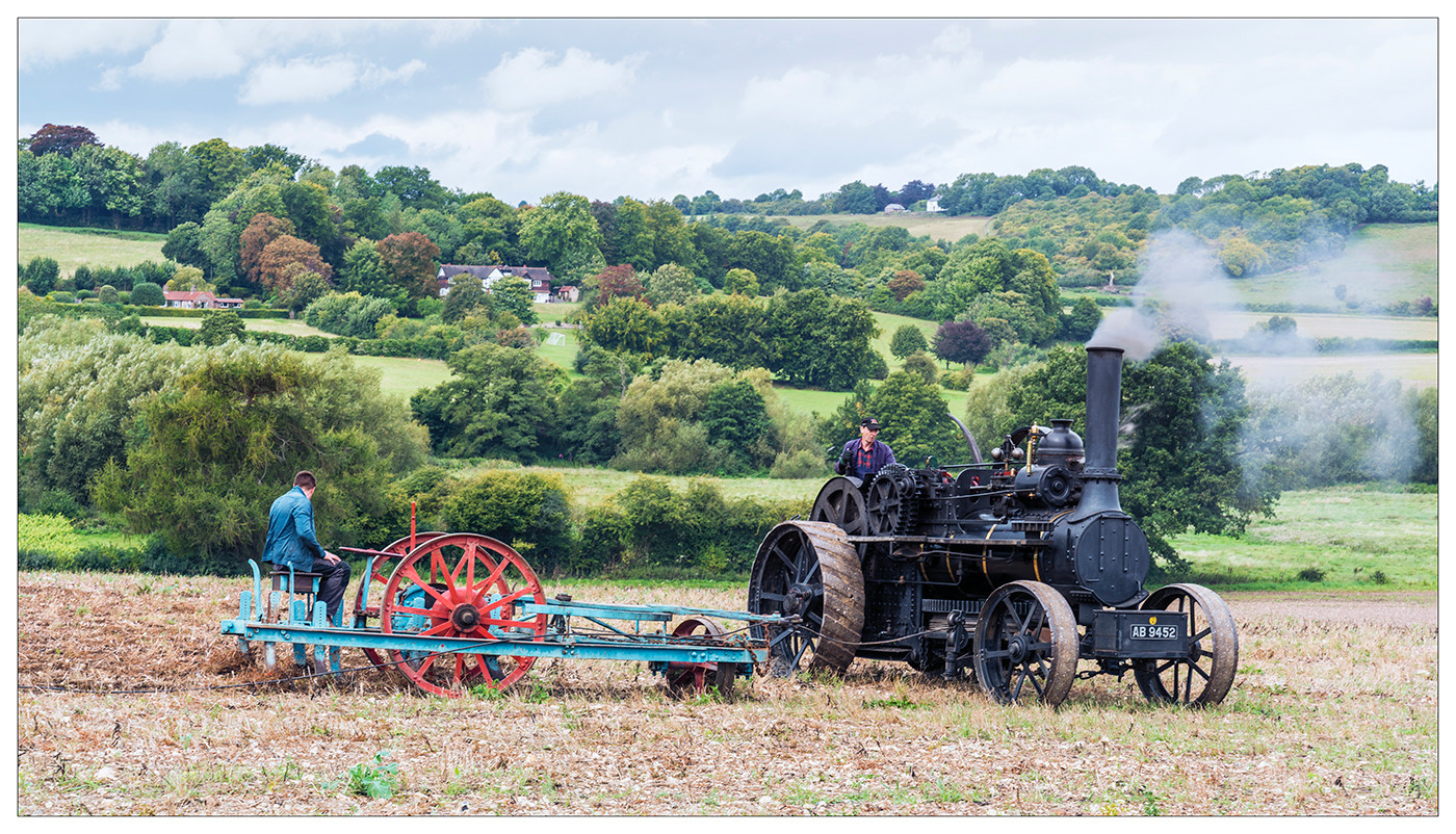 17 STEAM PLOUGHING by Steve Oakes