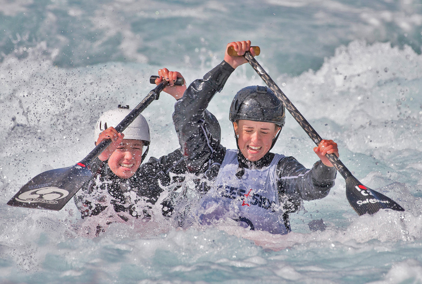 18 PADDLE FAST TO KEEP AFLOAT by John Hunt