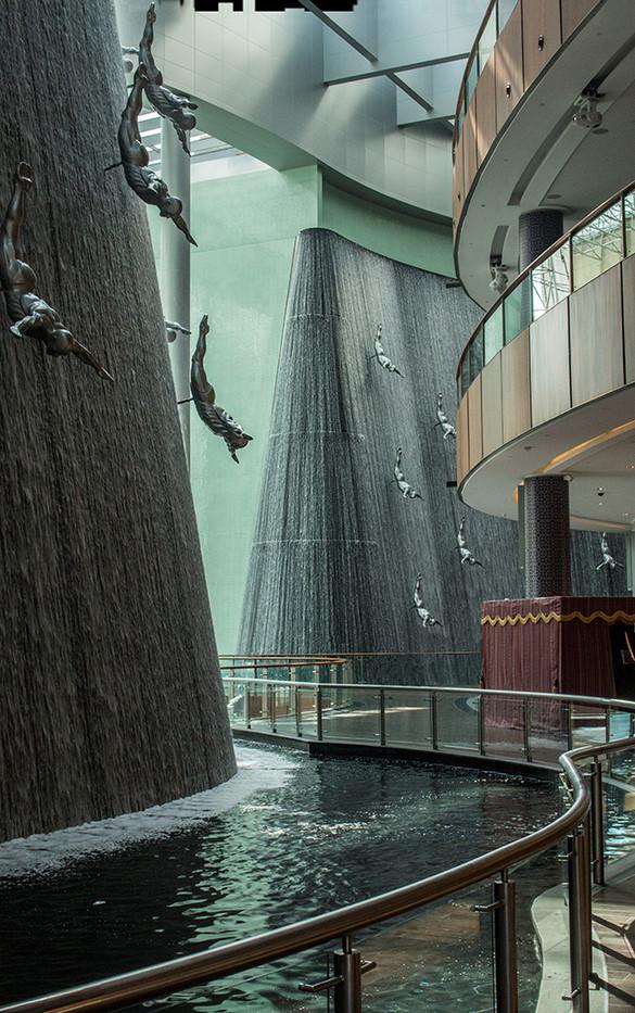 17 THE DUBAI WATERFALL by Muffi Forbes