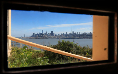 15 THE VIEW FROM ALCATRAZ by Dave Brooker