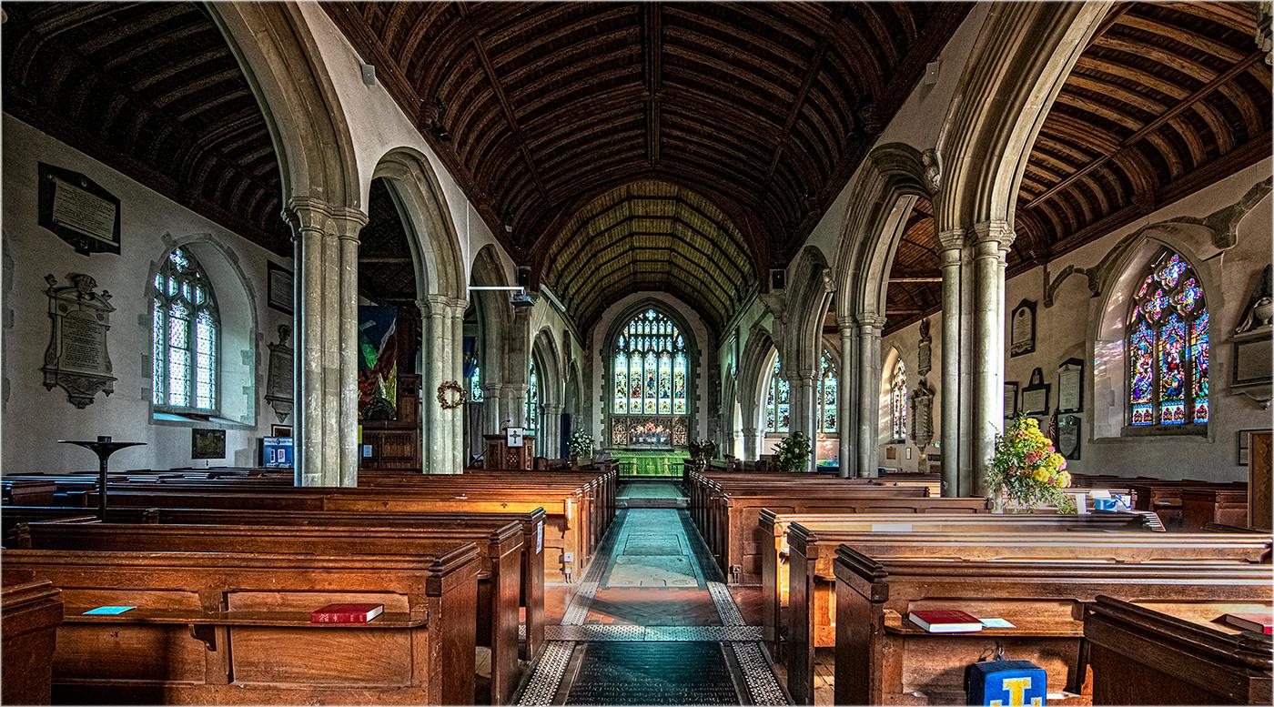 14 ST MARY THE VIRGIN CHURCH WESTERHAM by Philip Easom