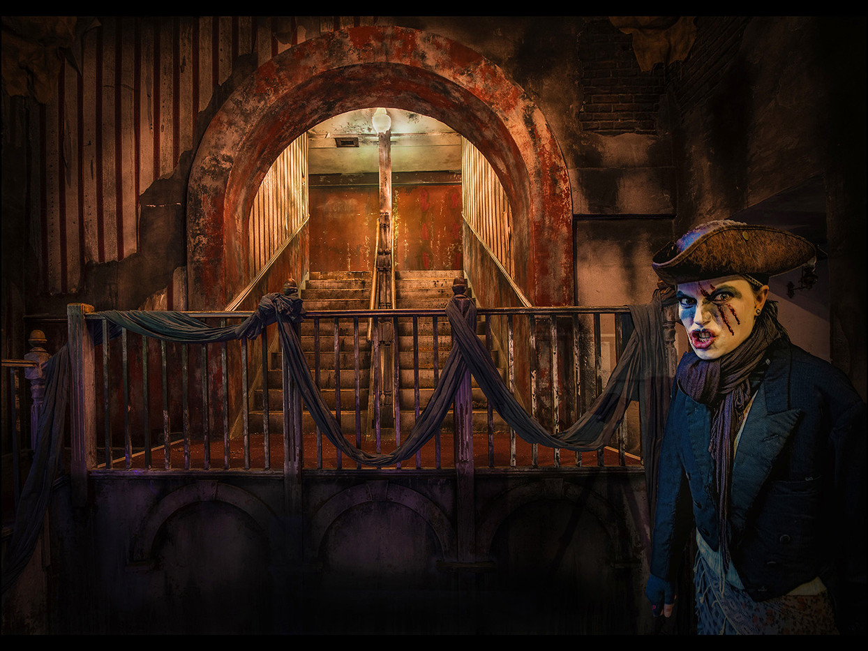 17 DICKENSIAN SECURITY GUARD by Mick Dudley