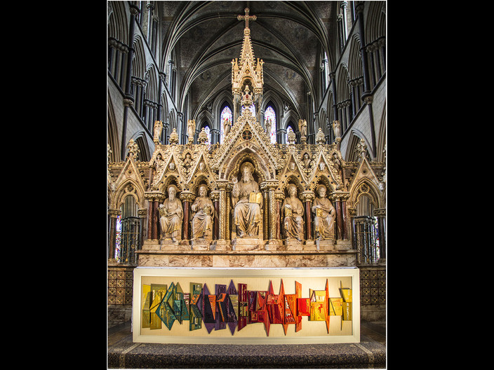 16 ALTAR AT WORCESTER CATHEDRAL by David Parkinson