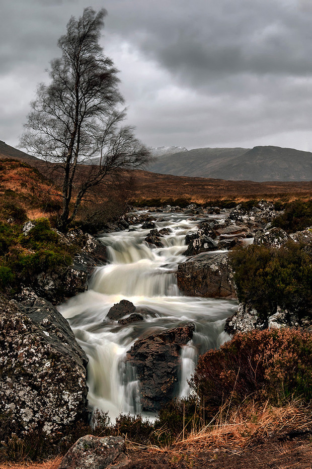 GROUP 1 19 FALLS AT GLENCOE by Ann Paine