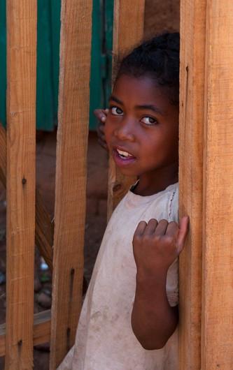 17 MALAGASY GIRL by Sue Pennicott