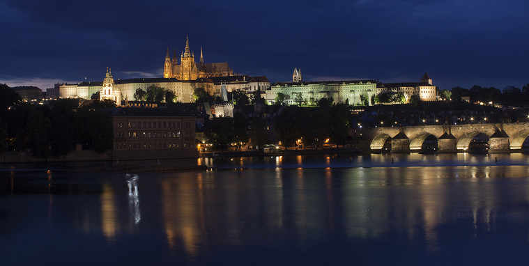 PRAGUE LIGHTS by Philip Smithies