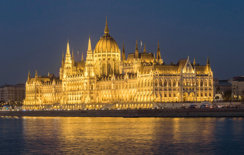 17 PARLIAMENT BUILDING BUDAPEST by Philip Smithies
