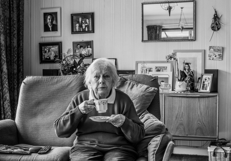 17 MUM AND HER MEMORIES by Richard Brown