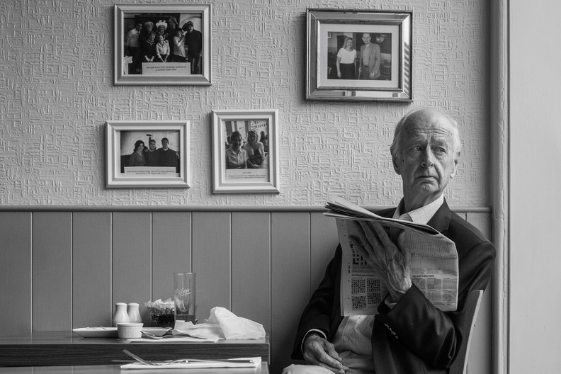 16 A DON AT LUNCH by Richard Brown