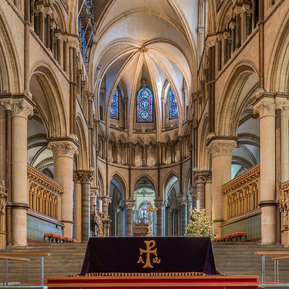 20 TRINITY CHAPEL, CANTERBURY CATHEDRAL by Alan Cork