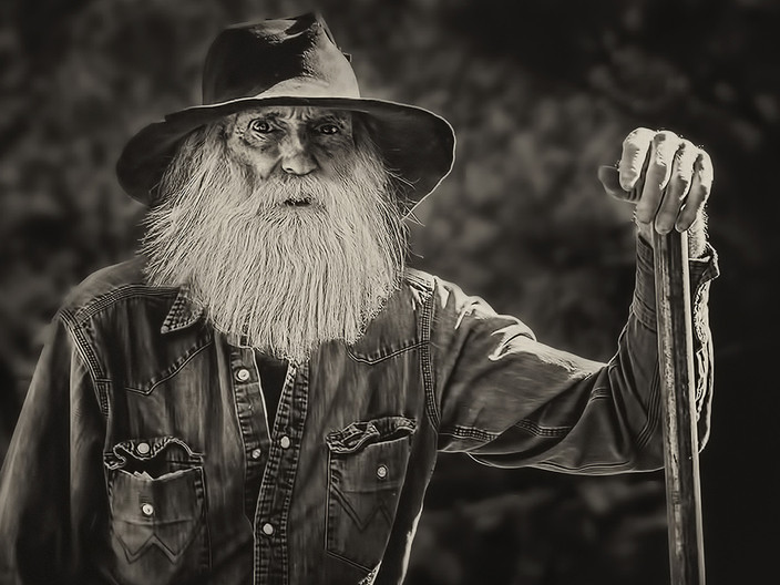16 OLD TIMER by Pam Sherren