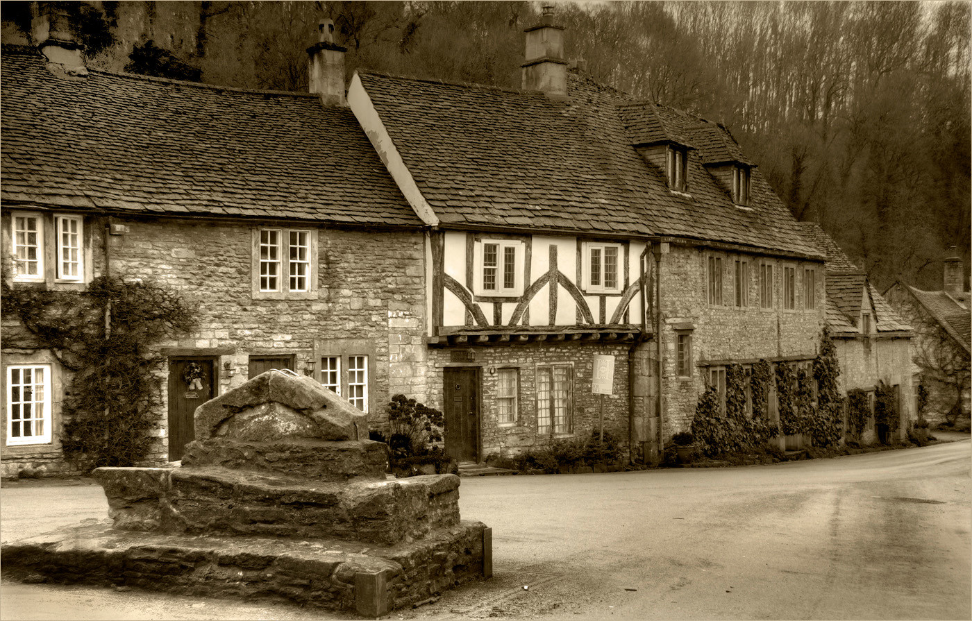 17 CASTLE COMBE WILTSHIRE by Dave Brooker