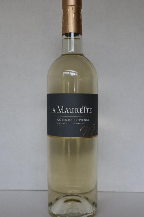La Maurette Blanc - Domaine de la Maurette
