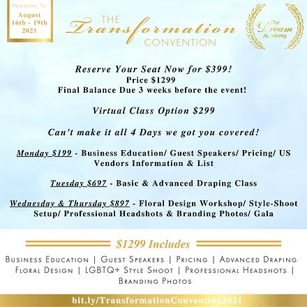 Main Pricing LGBTQ  Transformation Conve